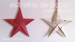 manualidades-faciles-estrellas-de-papel-navidad-paper-stars-christmas1